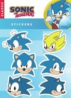 Plancha de Stickers Sonic The Hedgehog Sonic Clásico #1