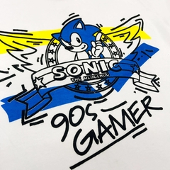 Remera Unisex Sonic The Hedgehog 90´s Gamer - comprar online
