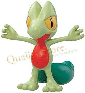 Muñeco Treecko Monster Collection M-087 Takara Tomy Pokemon Anime Argentina