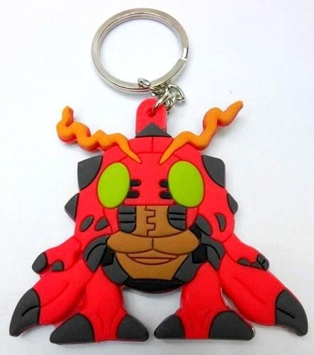 Llavero Silicona Digimon Digital Monsters Tentomon Anime Argentina