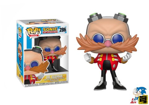 Muñeco Funko Pop Sonic The Hedgehog Dr. Eggman Sega Gamer Video Juego Argentina