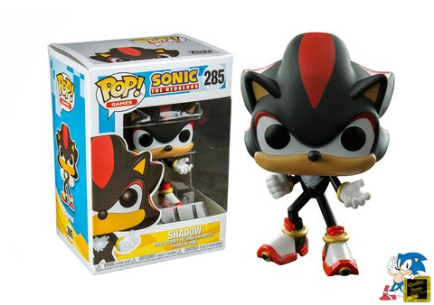 Muñeco Funko Pop Sonic The Hedgehog Shadow Sega Gamer Video Juego Argentina