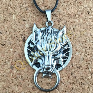 Collar Logo Lobo Final Fantasy argentina