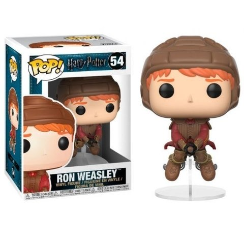 Muñeco Funko Pop Harry Potter #54 Ron Weasley on Broom - Consultá por descuentos en efectivo!!