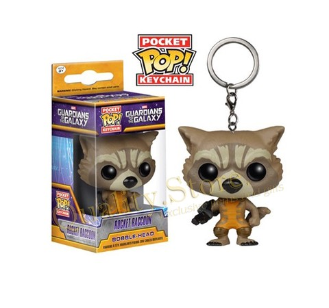 Llavero Funko Pop Guardianes de la Galaxia Rocket Raccoon Marvel Argentina