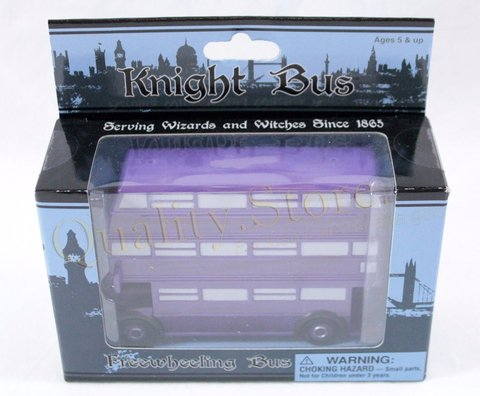Replica Noctambulo Knight Bus Universal Studios En Caja Harry Potter HP Argentina