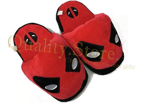 Pantuflas Slipper Peluche Plush Deadpool Marvel Argentina