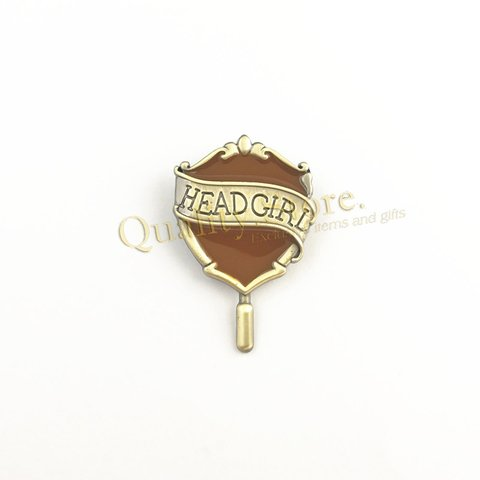 Pin Headgirl Hufflepuff Hogwarts Harry Potter Argentina