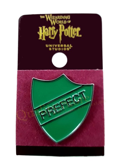 Pin Prefecto Slytherin Oficial Universal Studios Florida Harry Potter HP Argentina