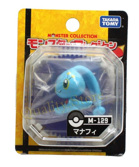 Muñeco Manaphy Monster Collection M-129 Takara Tomy Pokemon Anime Argentina