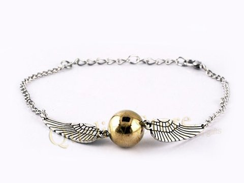 Pulsera Snitch Harry Potter HP Argentina
