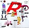 Figura Pokemon Etiqueta para vaso PUTITTO Team Rocket Vol. 2