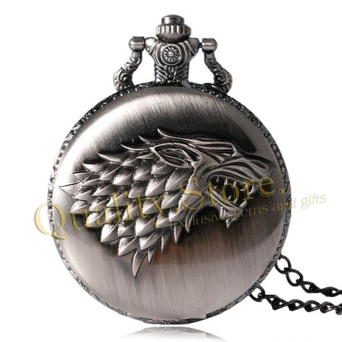 Collar Reloj Game Of Thrones GOT Stark Winterfell Westeros HBO Argentina