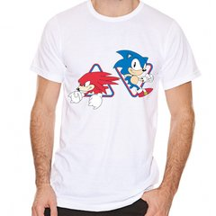 Remera Sonic The Hedgehog Oficial Sonic & Knuckles Licencia Sega