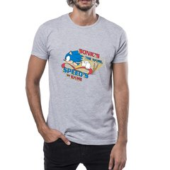 Remera Sonic The Hedgehog Oficial Sonic Is The Name Licencia Sega Argentina