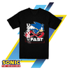 Remera Unisex Sonic The Hedgehog Gotta Go Fast Oficial