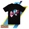 Remera para Chicos Sonic The Hedgehog Remix Oficial