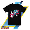 Remera Unisex Sonic The Hedgehog Remix Oficial