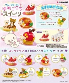 Figura Rilakkuma Sweets in Dream Re-Ment Blind Box Argentina