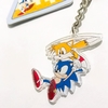 Llavero Acrílico Sonic The Hedgehog Oficial Classic Sonic & Tails