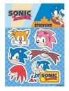 Plancha de Stickers Sonic The Hedgehog Sonic Clásico #2