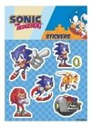 Plancha de Stickers Sonic The Hedgehog Sonic Clásico #3