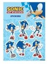 Plancha de Stickers Sonic The Hedgehog Sonic Moderno #2