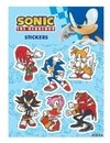 Plancha de Stickers Sonic The Hedgehog Sonic Moderno #4