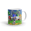 Taza de porcelana Sonic The Hedgehog Sonic, Tails & Knuckles