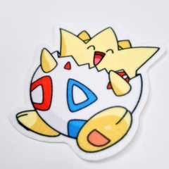 Parche Termotransferible Pokemon Togepi - comprar online