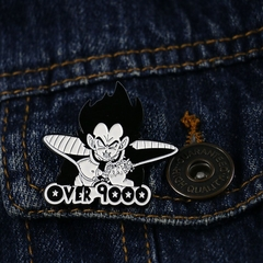 Pin Dragon Ball Vegeta Over 9000 en internet