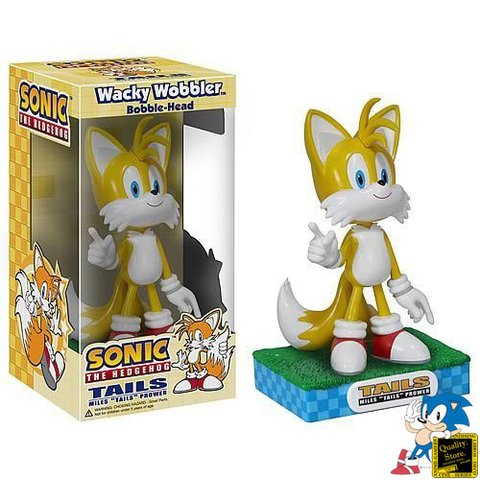 Wacky Wobbler Bobble Head Sonic The Hedgehog Tails - Consultá por descuentos en efectivo!!