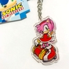 Llavero Acrílico Sonic The Hedgehog Oficial Modern Amy
