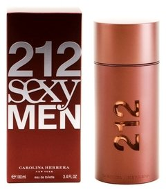 212 Sexy Men de Carolina Herrera EDT x 100 ml en internet