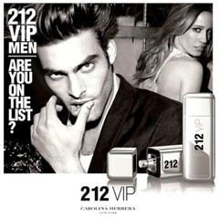 212 Vip Men Carolina Herrera EDT x 100 ml - Perfumes Lourdes