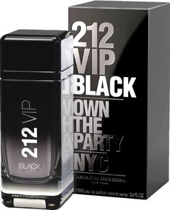 212 Vip Black Men de Carolina Herrera EDP x 100 ml