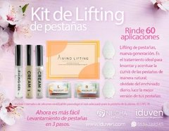 Curso en linea de Lifting de pestañas con Kit Amino PLUS en internet