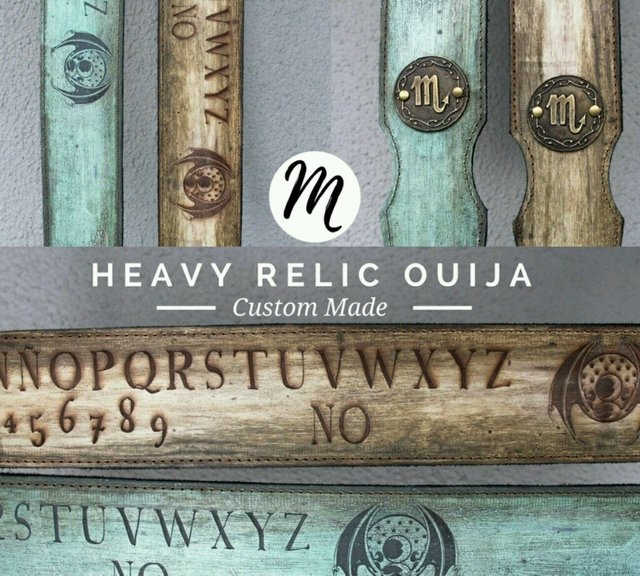 Heavy Relic Wood Ouija - Edicion limitada custom colors. - Lamanta