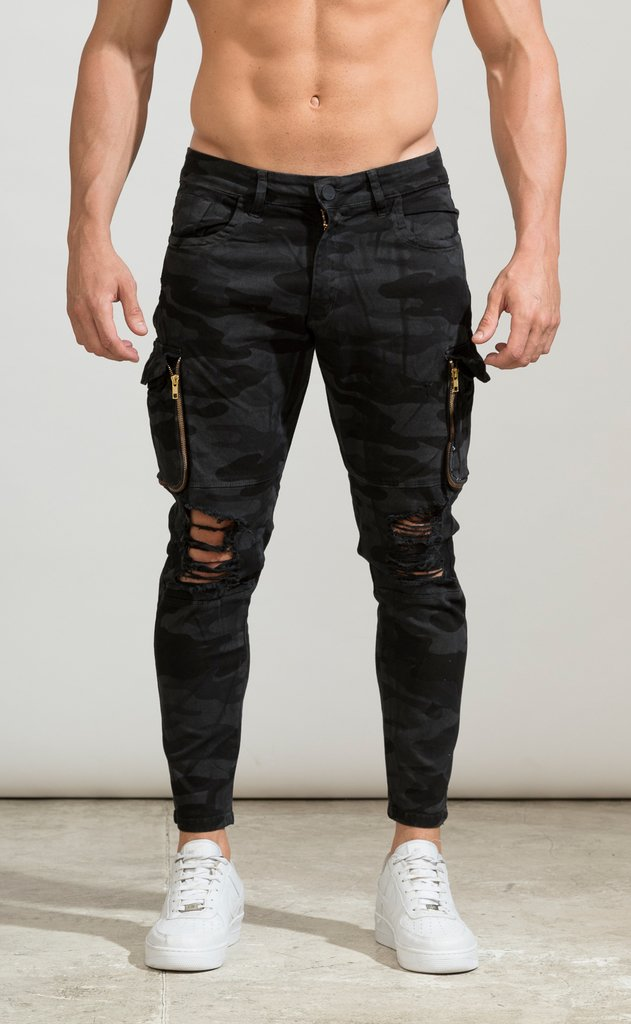 Cargo kamooflash pants