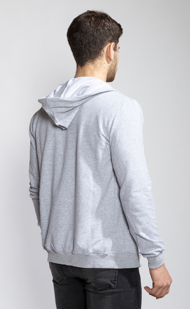 Hoodie sweatshirt - Light grey - Media estación - comprar online