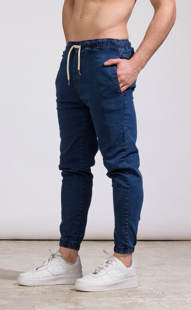 Denim Jogger - Blue - Mohammed