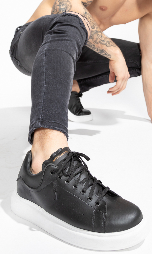 Mohammed sneakers - black on internet