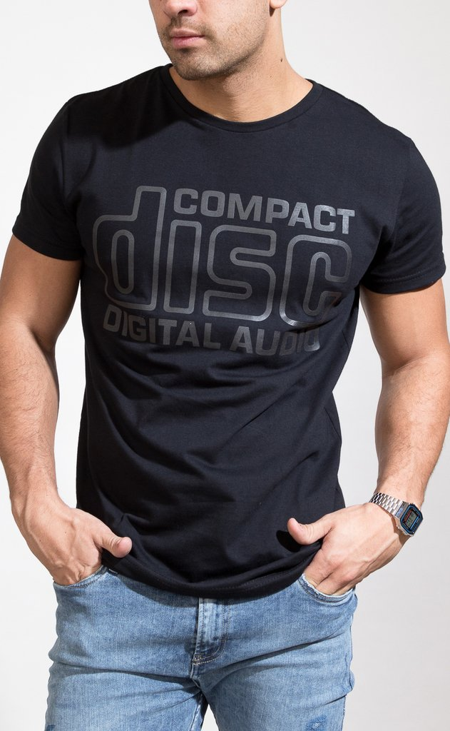 Compact disc tshirt on internet