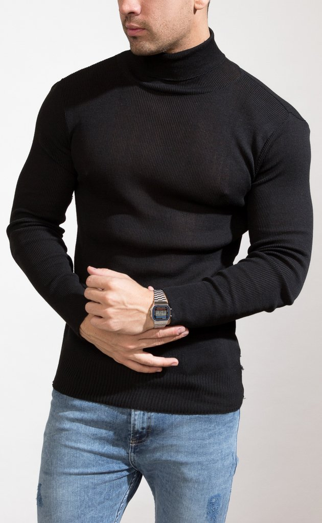 Polera sweater - Black