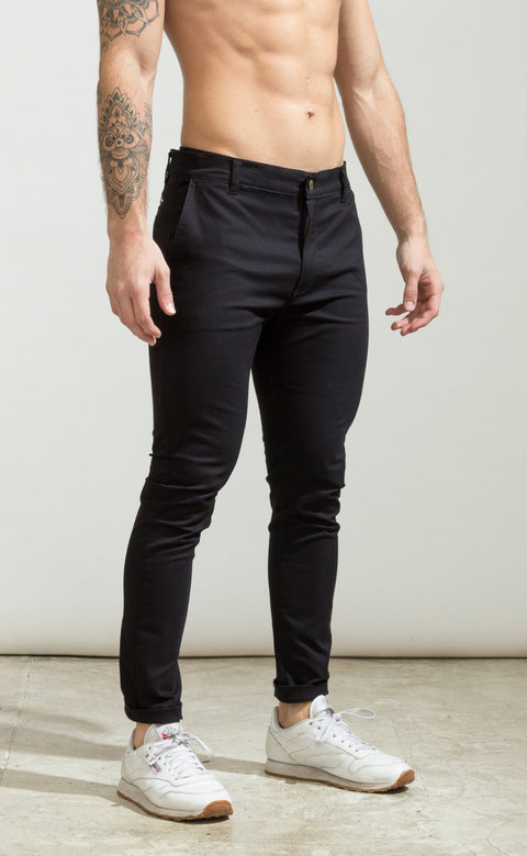 Skinny gabe pants - Black