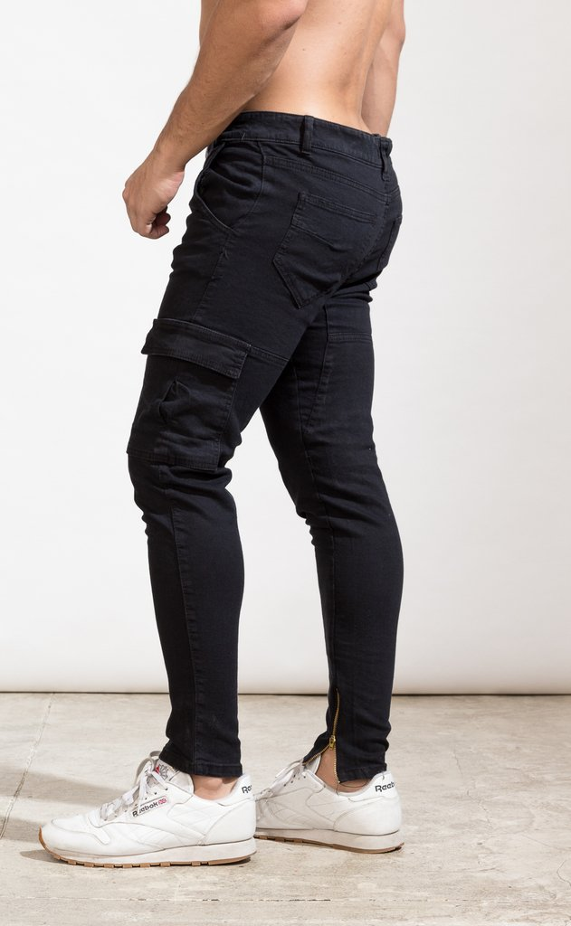 Cargo pant - Gabe black - online store