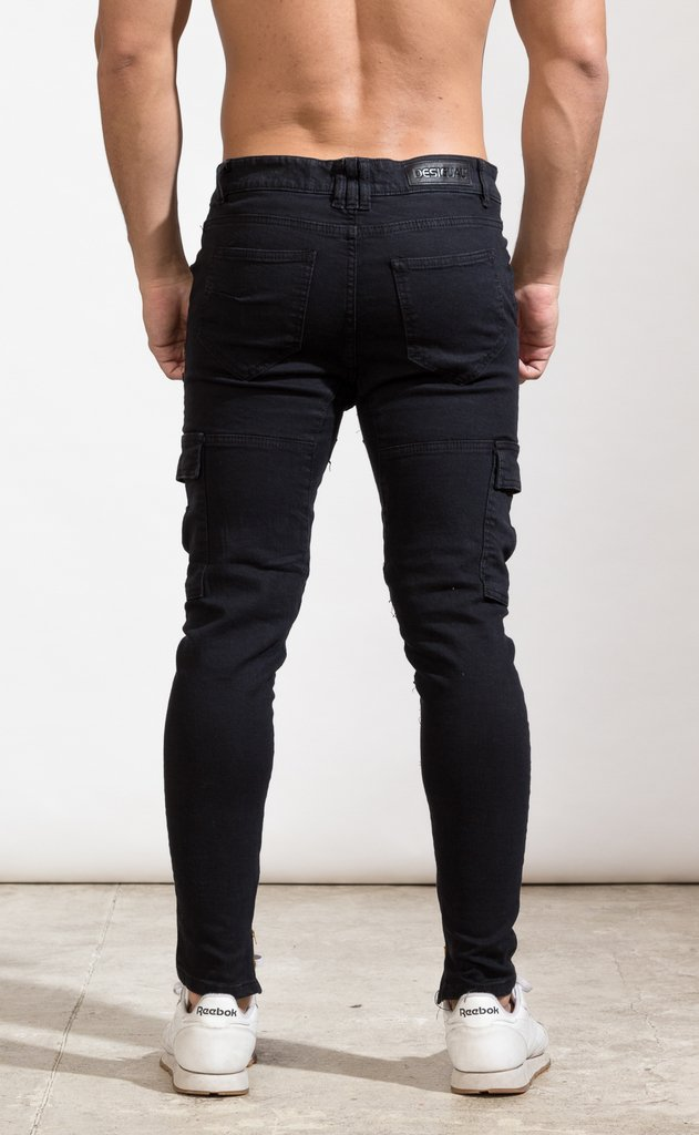 Image of Cargo pant - Gabe black