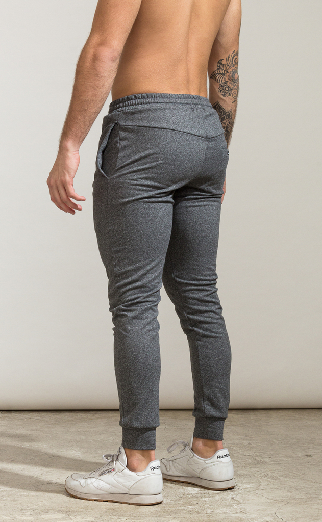 Skinny cotton jogger- Térmico grey - Mohammed