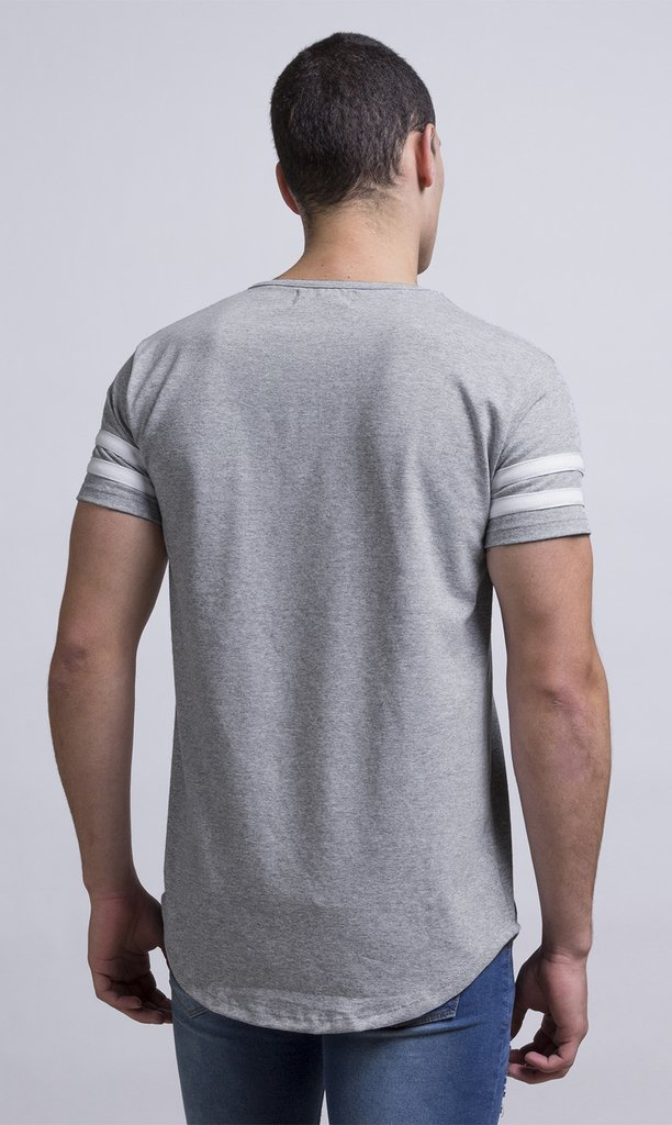 Maxi Tshirt - Stripes Grey - buy online