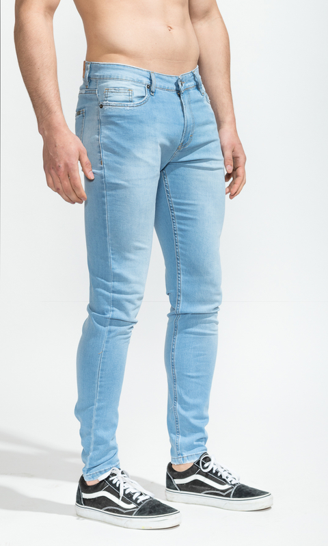 Skinny Jeans - Light blue summer